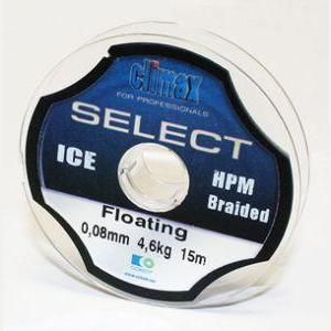 "Леска плет. ""CLIMAX"" Select Braided Ice 0.16 15м 13.0кг 59-020"